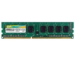シリコンパワー デスクトップPC用メモリ 240Pin DDR3 1600 PC3-12800 4GB 永久保証 SP004GBLTU160N02