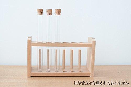 コルク栓付きガラス試験管 3本セット 日本製