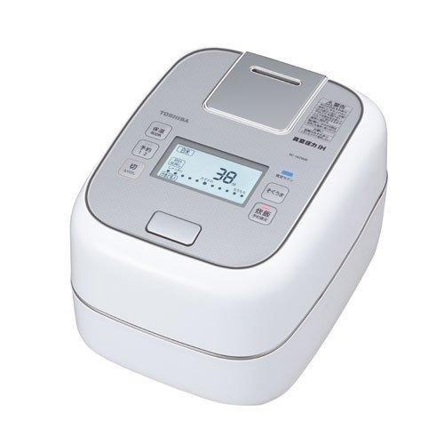 真空圧力IHジャー 炊飯器 (5.5合炊き) グランホワイト TOSHIBA 圧力+真空 合わせ炊き RC-10ZWM-W