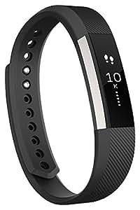 Fitbit フィットビット フィットネスリストバンド Alta 運動 睡眠 カレンダー通知 健康管理 活動量計 アクティブトラッカー スマートブレスレット Black ブラック Lサイズ 【日本正規品】 FB406BKL-JPN