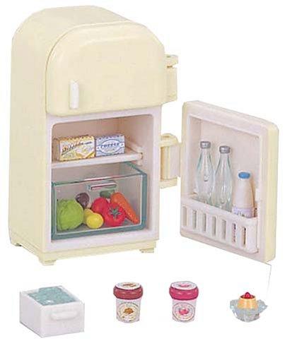 シルバニアファミリー キッチン / ダイニングルーム 冷蔵庫セット カ-403