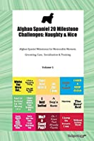 Afghan Spaniel 20 Milestone Challenges: Naughty & Nice Afghan Spaniel Milestones for Memorable Moment, Grooming, Care, Socialization & Training Volume 1