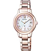 [シチズン]腕時計 xC クロスシー 限定モデル エコ・ドライブ電波時計 ティタニアライン ハッピーフライト 日中米欧電波受信 EC1147-52W レディース