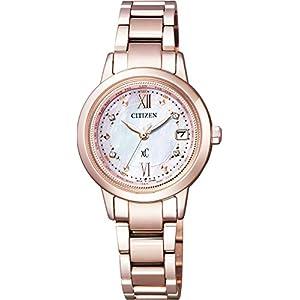 [シチズン]CITIZEN 腕時計 xC クロスシー 限定モデル エコ・ドライブ電波時計 ティタニアライン ハッピーフライト 日中米欧電波受信 サクラピンク EC1147-52W レディース