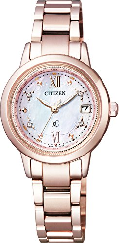 CITIZEN nữ bán chạy tại Nhật Bản/ Nữ [citizen] watch x c cross sea limited model eco drive radio watch titania line happy flight japan, central america european radio wave reception ec 1147-52 w women's