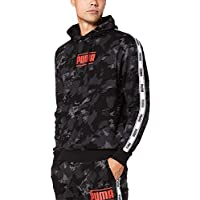 PUMA Men's CAMO PACK AOP HOODIE, Iron Gate/aop