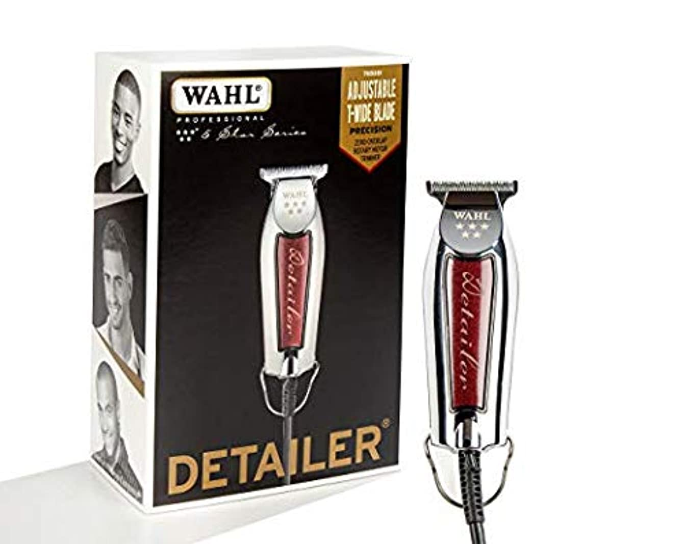 楽観産地殺す[Wahl ] [Professional Series Detailer #8081 - With Adjustable T-Blade, 3 Trimming Guides (1/16 inch - 1/4 inch...
