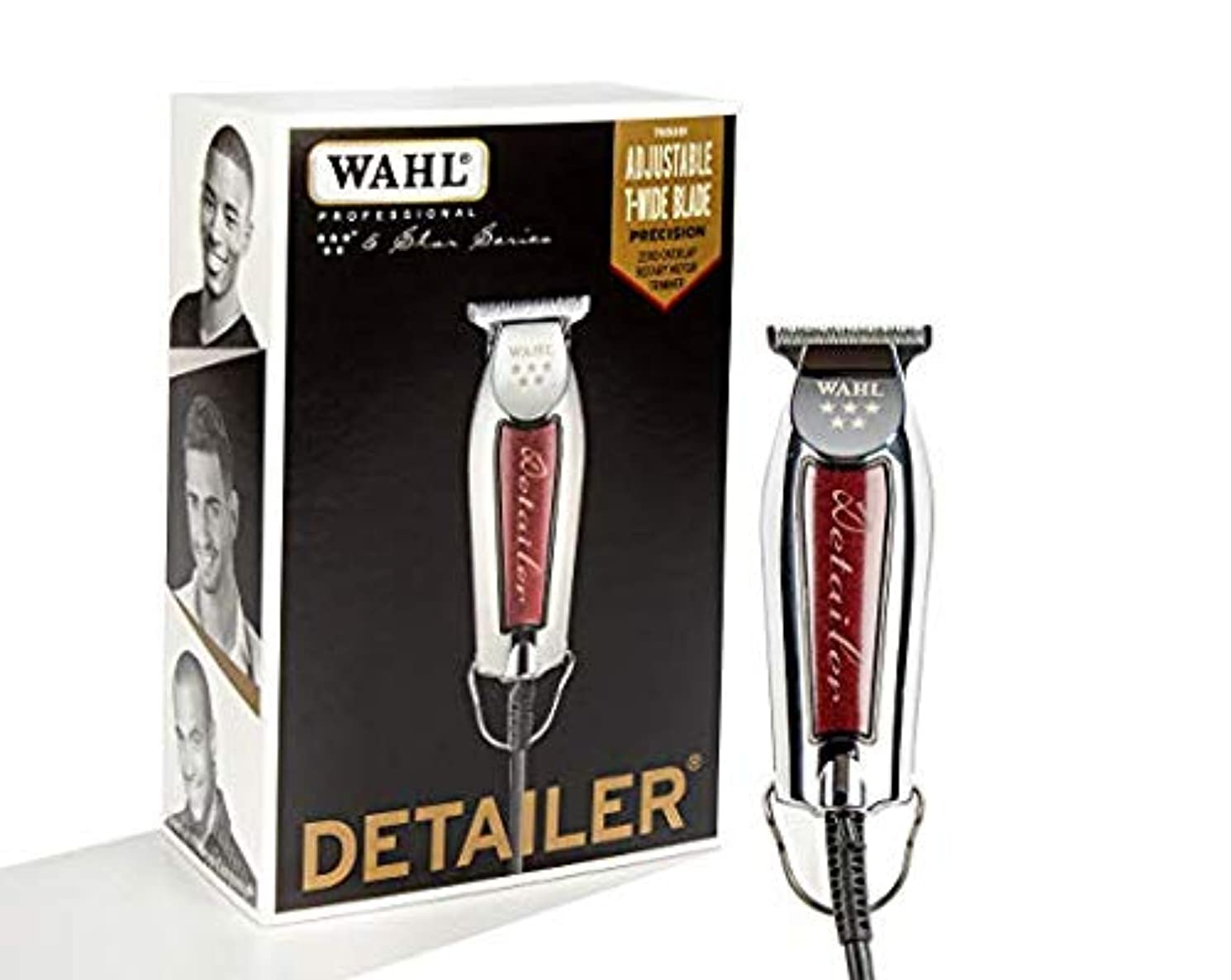 スマート壁長くする[Wahl ] [Professional Series Detailer #8081 - With Adjustable T-Blade, 3 Trimming Guides (1/16 inch - 1/4 inch...
