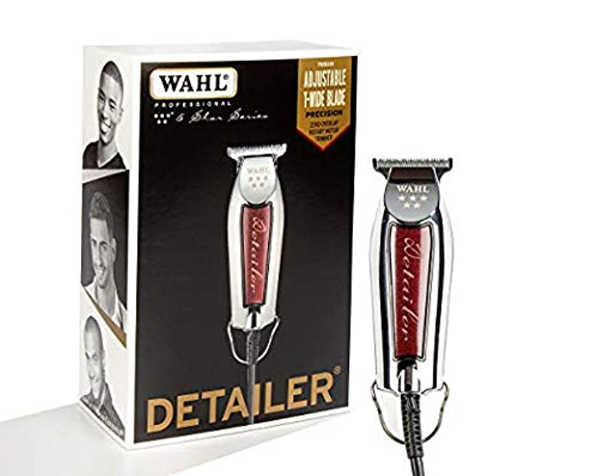 知性ジュラシックパーク代替案[Wahl ] [Professional Series Detailer #8081 - With Adjustable T-Blade, 3 Trimming Guides (1/16 inch - 1/4 inch...