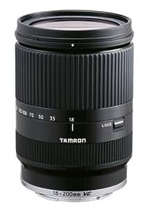 TAMRON 高倍率ズームレンズ 18-200mm F3.5-6.3 DiIII VC ソニーEマウント用 ミラーレスカメラ NEX専用 ブラック B011SE-ブラック