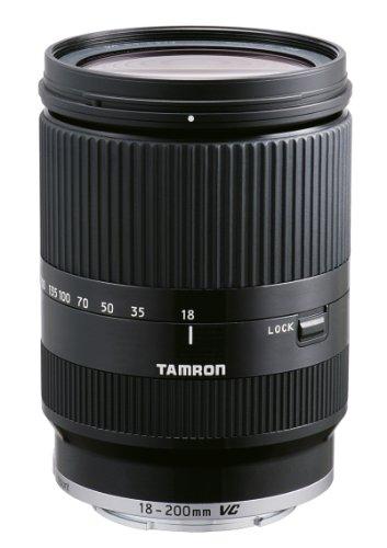 TAMRON 高倍率ズームレンズ 18-200mm F3.5-6.3 DiIII VC キヤノンEOS M用 ミラーレスカメラ EOS M専用 ブラック B011EM-BLACK