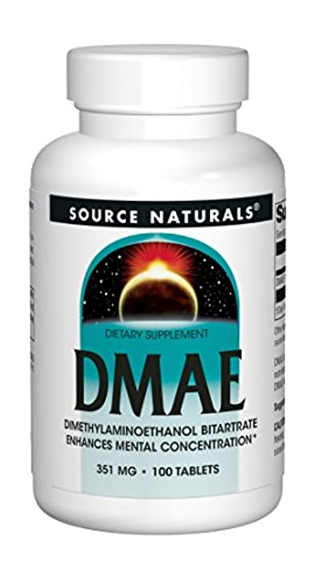 トンネル謎めいた弾薬DMAE 351mg 100タブレット (海外直送品)