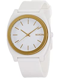 [ニクソン]NIXON TIME TELLER P: WHITE/GOLD ANO NA1191297-00 【正規輸入品】