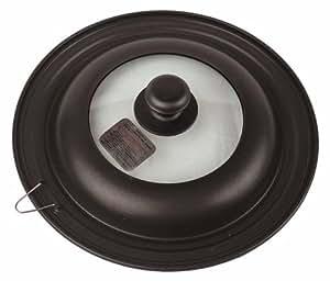AKAO NEWルッククック フライパンカバー 【アルミ板厚 1.0mm】 兼用サイズ24・26・28cm グラファイトブラック Lサイズ 0015403