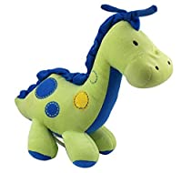 Jitty音楽ブルー恐竜おもちゃ、おもちゃ赤ちゃん用ぬいぐるみ恐竜