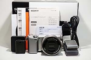 ソニー SONY ミラーレス一眼 α NEX-5R パワーズームレンズキット E PZ 16-50mm F3.5-5.6 OSS付属 シルバー NEX-5RL/S