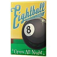 Nostalgic Tin Sign ブリキ看板 Eight Ball Billiard Eight