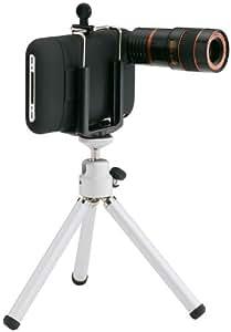 プリンストンテクノロジー iPhone 3G/3GS用カメラキット(ブラック) PIP-CK1B