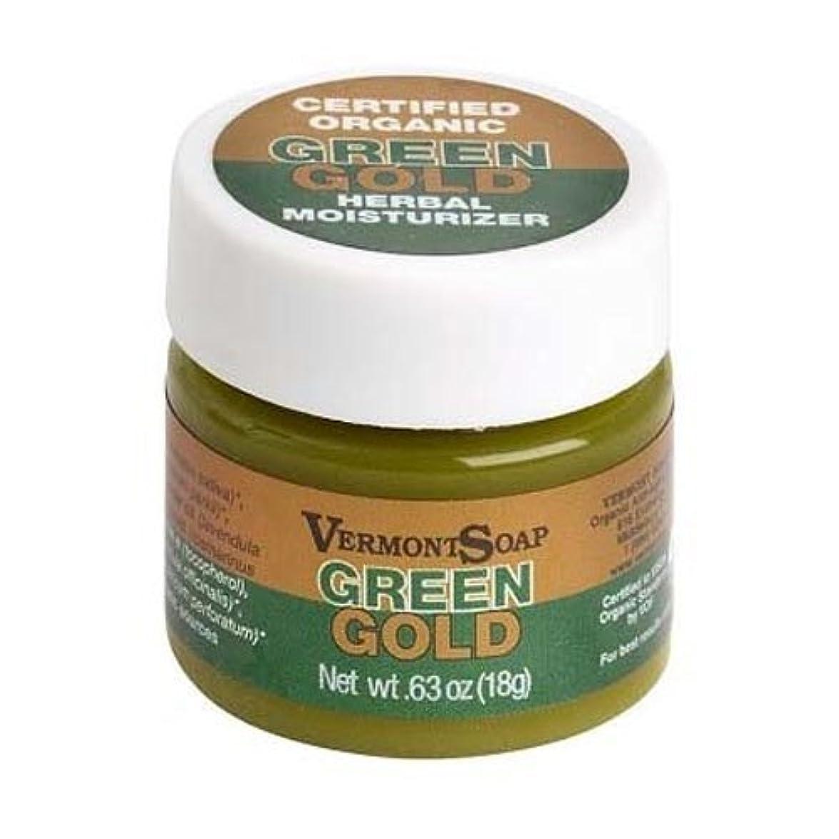 軽減適応的憲法バーモントソープ オーガニック保湿クリーム グリーンゴールドS