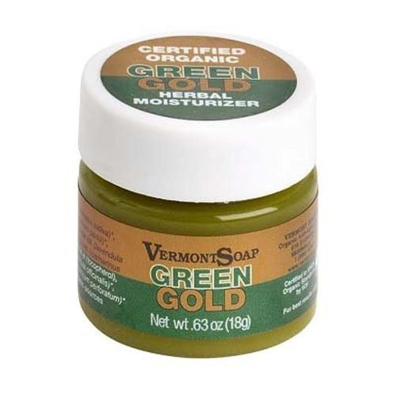 遅滞化学者普通のバーモントソープ オーガニック保湿クリーム グリーンゴールドS