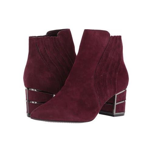 (スティーブマデン)STEVE MADDEN レディースブーツ・靴 Bennett Burgundy 6.5 23.5cm M [並行輸入品]
