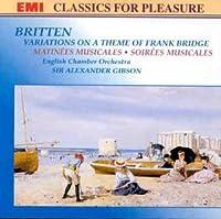 Britten;Soirees Musicales