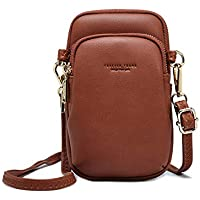 Crossbody Pouch For Women Cellphone Bags Wasit Bag Soft Leather Pocket Retro Chest Sling Pocket With Adjustable Strap