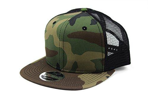 [해외]NEW ERA (뉴 에라) 메쉬 캡 스냅 백 플랫/NEW ERA (New Era) Mesh Cap Snap Back Flat
