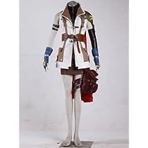 ファイナルファンタジーXIII FINAL FANTASY XIII FF13 ライトニング Lightning  コスプレ衣装 コスチューム Cosplay Costume 女性Lサイズ COSSKY