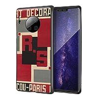 Alexander Rodchenko Huawei Mate 30 Pro用ケース/ファインアート携帯電話ケース/高解像度ジクレーレベルUV複製プリント、携帯電話カバー(Lurssの装飾的で工業的なLaurts)