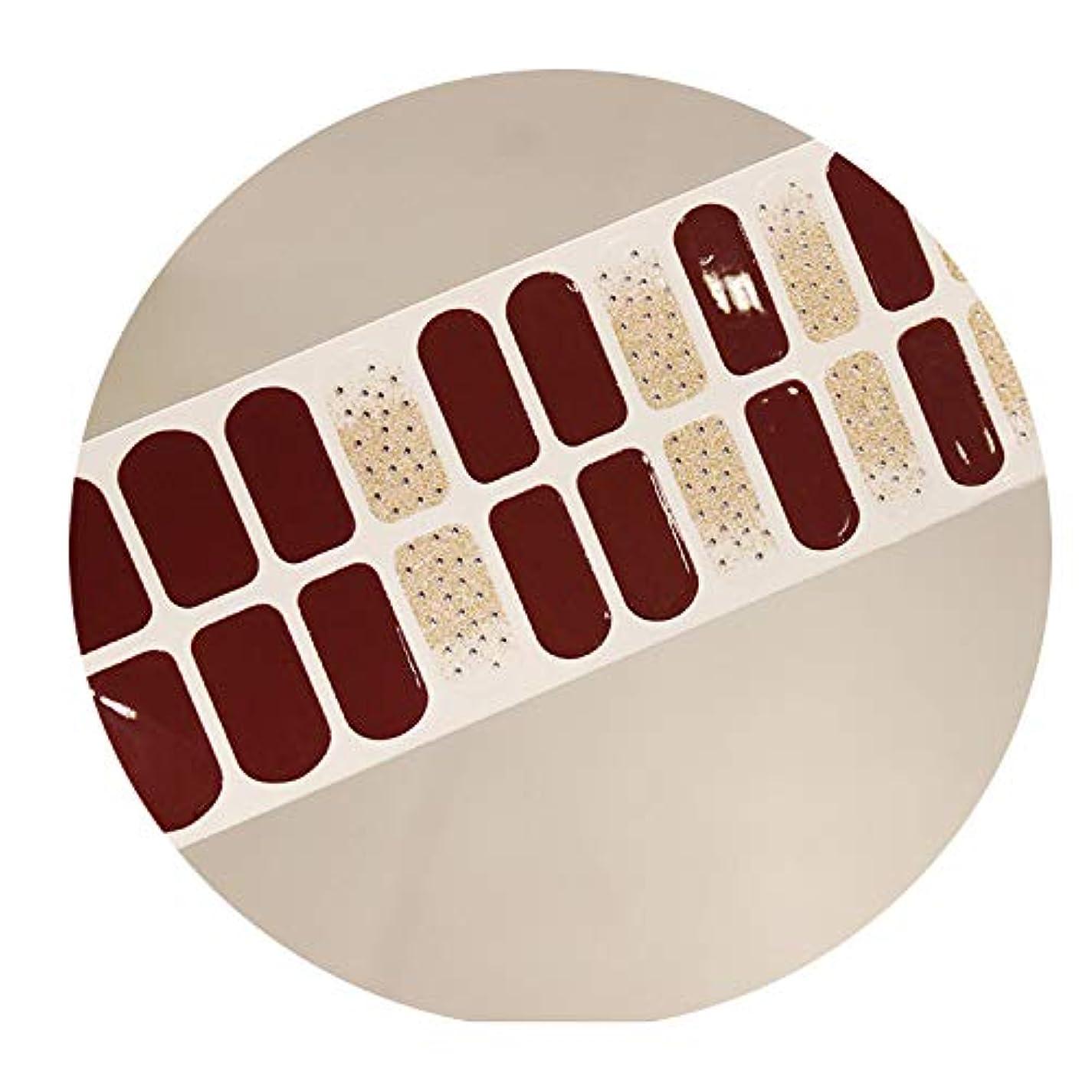 濃度吐き出すクラウンDIY 3Dネイルステッカーフルカバーキラキラマーブル足指の爪ストリップ防水,SS034