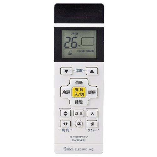 汎用 国内主要メーカー13社対応 タイマー付き OAR-240N 03-2400 OHM