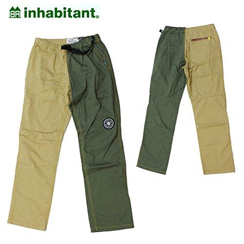 (インハビタント)inhabitant ih152pa59-ol2 ボトムス LONGPANTS EASY PANTS/OL2 IH152PA59 XS