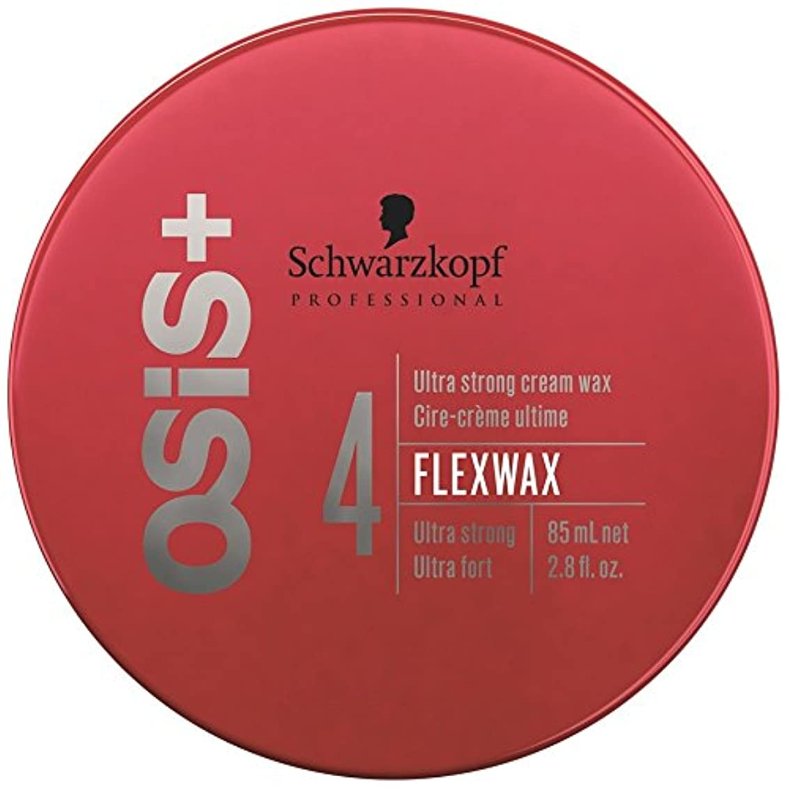 耐えられないケーキスクラブSchwarzkopf Osis Flexwax 85ml