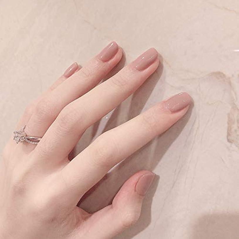 港仮説ライフルシンプルな优雅さと上质な手作りネイルチップ ネイル花嫁じ で気质の高い淑女 偽の爪 ネイルチップ