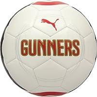 Puma Arsenal FCサッカーボールファン2014 – 2015新しいホワイト/レッド/ネイビーサイズ5