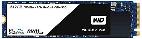 WD SSD 内蔵SSD M.2 512GB WD Black / PCIe Gen3 NVMe 8Gbs / 5年保証 / WDS512G1X0C