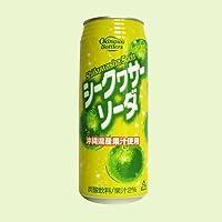 シークヮーサーソーダ 2ケース48缶(1缶500ml)