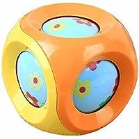 Yiping 子供用 知育玩具 赤ちゃん キュート プラスチック ハンドラトル ベル キッズ 赤ちゃん ファニー クローリング おもちゃ ボール ギフト