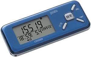 シチズン(CITIZEN) デジタル歩数計 Peb TW600-BL ブルー