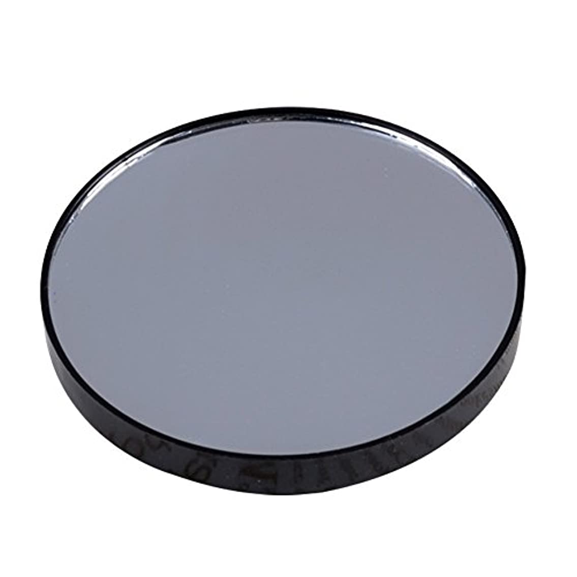うっかり付き添い人発生YideaHome メイクアップミラー 化粧鏡 拡大鏡 5倍 10倍 15倍 強力吸盤付き メイクミラー 化粧ミラー (15倍)