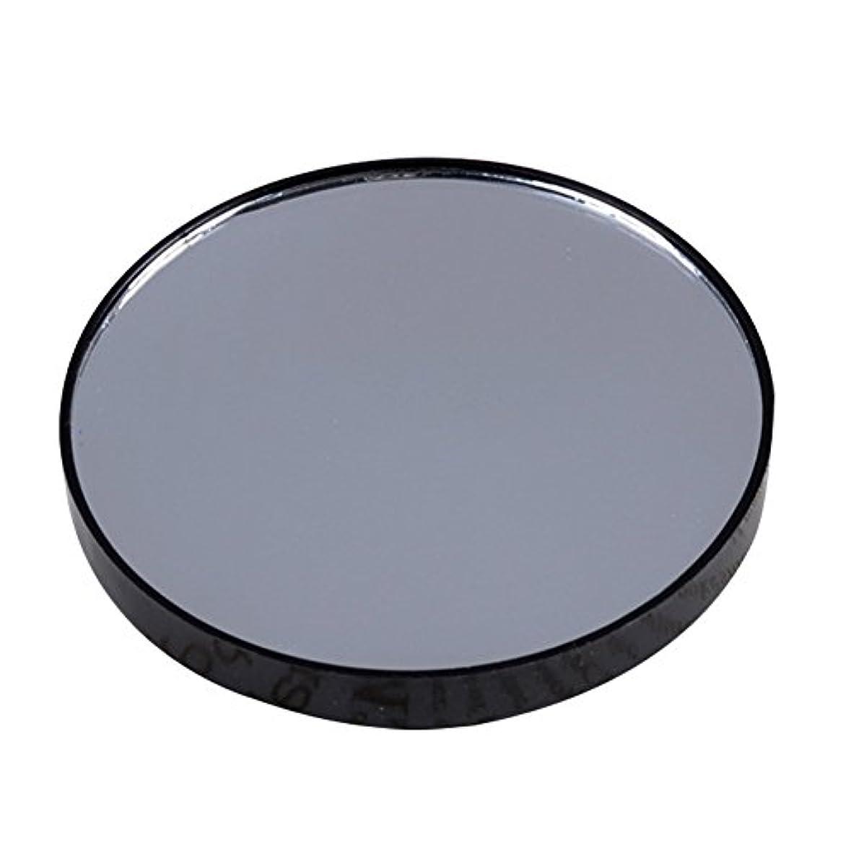 箱硬さ対YideaHome メイクアップミラー 化粧鏡 拡大鏡 5倍 10倍 15倍 強力吸盤付き メイクミラー 化粧ミラー (15倍)
