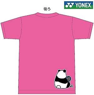 YONEX(ヨネックス) Tシャツ バドミントン 【パンダ 休憩中】【16500】【限定】ピンク J120