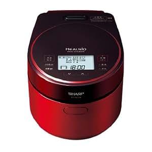 シャープ ヘルシオ(HEALSIO) 炊飯器 レッド系 KS-PX10A-R
