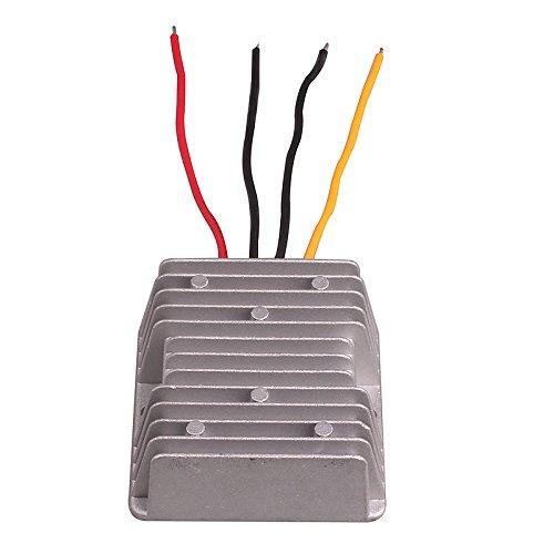 DC12V~24V 自動車直流コンバータ ブースター変圧器 ナビゲーションコンバーター 変換器 密封...