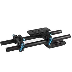 NEEWER DP500 15mm DSLR ロッドサポートシステム 2ロッドで調整可能 ショルダーマウント/プラットフォームベースプレート/ショルダーマウントコネクタ/リグシステム 【並行輸入品】