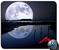 ZMvise満月パターンファッション漫画マウスパッドマットカスタム四角形ゲームマウスパッド
