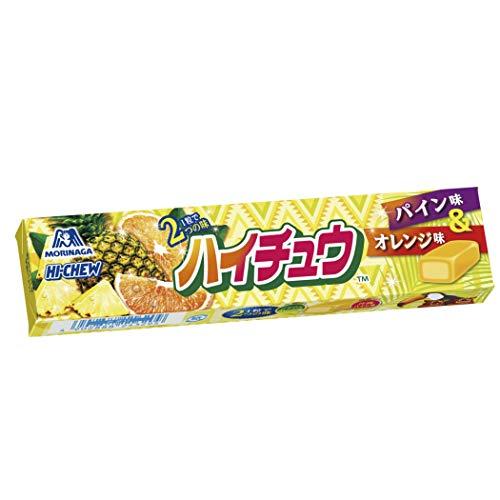 森永製菓 ハイチュウ パイン&オレンジ 12粒 ×12本