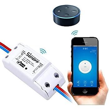 LEEHUR 電源リモートスイッチ スマートで電源を制御 wifi コンセント 携帯appで外出でも自宅の電器製品をON/OFF 遠隔操作できる 電源コンセントをコントロール スマートコンセントAndroid / iOS対応