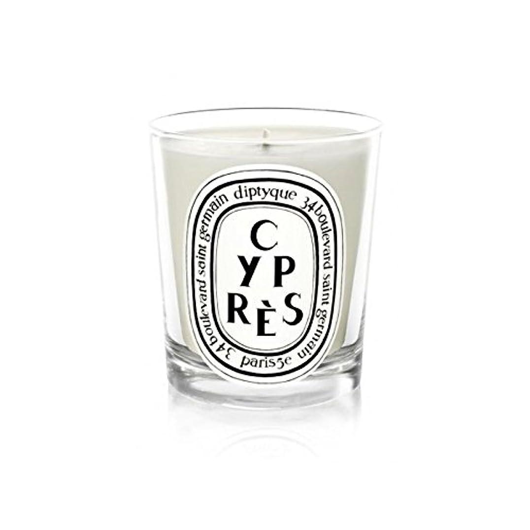 独占安定した子供達DiptyqueキャンドルCypr?s/ヒノキ190グラム - Diptyque Candle Cypr?s / Cypress 190g (Diptyque) [並行輸入品]